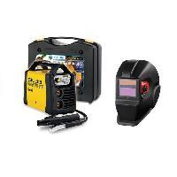Fer A Souder - Poste A Souder DECA Poste a souder Inverter 130 A SIL 313 avec cagoule LCD DIN11 et 20 électrodes