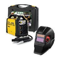 Fer A Souder - Poste A Souder DECA Poste a souder Inverter 150 A SIL 415 avec cagoule LCD DIN11 et 20 électrodes