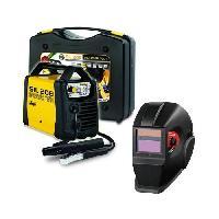 Fer A Souder - Poste A Souder DECA Poste a souder Inverter 80 A SIL 208 avec cagoule LCD DIN11 et 20 électrodes