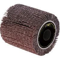 Feuille Abrasive - Papier De Verre - Patin Abrasif - Triangle Abrasif FARTOOLS Rouleau a lamelle abrasive A80 - Ø 60 mm