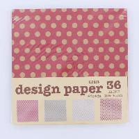 Feuille Decopatch Papier Origami - Pop - 48 Pieces