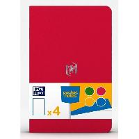 Feuillet Mobile - Copie Double 4 Carnets Pocket Notes agrafes - 9 x 14 cm - 48 pages - Fun