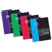 Feuillet Mobile - Copie Double OXFORD Cahier Activebook - Polypropylene - Avec Intercalaire - 160 pages - 24 x 29.7 cm - Seyes Etudiant