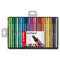 Feutres Coffret de 25 feutres de coloriage Pen 68