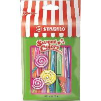 Feutres Pen 68 Mini - Sachet Sweet Colors - 15 feutres de coloriage