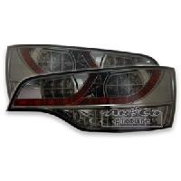Feux Arrieres 2 Feux Arriere LED pour Audi Q7 chrome