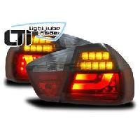 Feux Arrieres 2 Feux Arrieres LTI BMW Serie 3 E90 rouge fumee