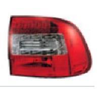 Feux Arrieres 2 Feux LEDS adaptables pour Porsche Cayenne 03-06 - Rouge Chrome - AuCo