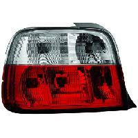 Feux Arrieres 2 Feux Tuning EVO Light Adaptables compatible avec BMW E36 Compact 92-98 - RougeCristal
