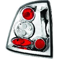 Feux Arrieres 2 Feux Tuning EVO Light Adaptables pour Opel Astra G 98-04 - Cristal