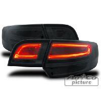 Feux Arrieres Audi Feux arriere LED Lighttube pour Audi A3 Sportback -8PA- 04-08 Noir - ADNAuto