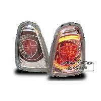 Feux Arrieres Mini 2 Feux Arriere LED chromes pour New Mini ap11 - ADNAuto