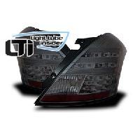 Feux Arrieres Suzuki 2 Feux arriere LTI pour Suzuki Swift FZ-NZ noir ap10