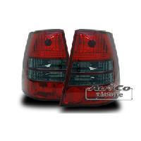 Feux Arrieres VW 2 Feux adaptables pour VW Bora 99-04 - Golf IV 99-06 rouge-fumee