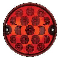 Feux De Remorque Feu STOP ARRIERE LED ROUGE 1033V 20.5W D95MM - Ring