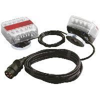 Feux De Remorque SPOTLIGHT Kit magnétique Entre Feu a LED - 4 m - Alim 12 m - Turbocar