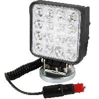 Feux De Remorque SPOTLIGHT Projecteur de travail - 3W × 9 LED magnétique 27 W - Turbocar