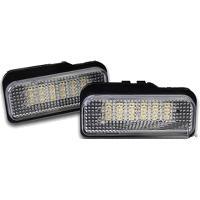 Feux de plaques Feu de plaque LED pour Mercedes classe C W203 - S203 Generique