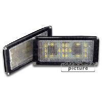 Feux de plaques Feu de plaque a LED blanche pour BMW Serie 7 E65 66 ap01 - ADNAuto