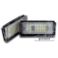 Feux de plaques Feu de plaque a LED pour BMW Serie 3 E46 4 portes - ADNAuto