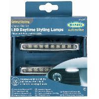 Feux diurnes - DRL 2 Feux Diurnes adaptables - Cruise Lite Diamond - 8 LEDs