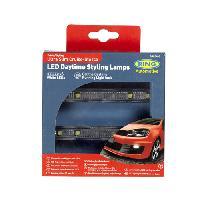 Feux diurnes - DRL 2 Feux diurnes a LED - Slim - Cruise Lite - Ring