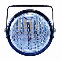 Feux diurnes - DRL 2 projecteurs ronds - 70mm - DRL et DSL Ring