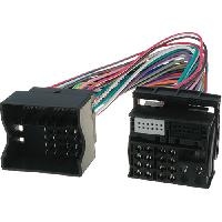 Fiche ISO Audi Faisceau Radio Origine compatible avec Audi SEAT Skoda VW ap03 vehicule en FAKRA vers FAKRA MIBPQ