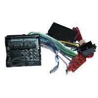 Fiche ISO Audi Fiches ISO Autoradio - ISOFakra 4X40W Audi ap07 - Pour systeme amplifie non-Bose Generique