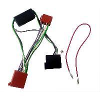 Fiche ISO Audi Fiches Iso Autoradio compatible avec AUDI A4 ap98 4X40W SYSTEME AMPLIFIE NON BOSE ISO 10 VOIES