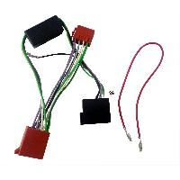 Fiche ISO Audi Fiches Iso Autoradio compatible avec AUDI S3 ap98 4X40W SYSTEME AMPLIFIE NON BOSE ISO 10 VOIES