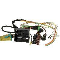 Fiche ISO Audi Fiches autoradio GPS MFD RNS-E compatible avec Audi VW