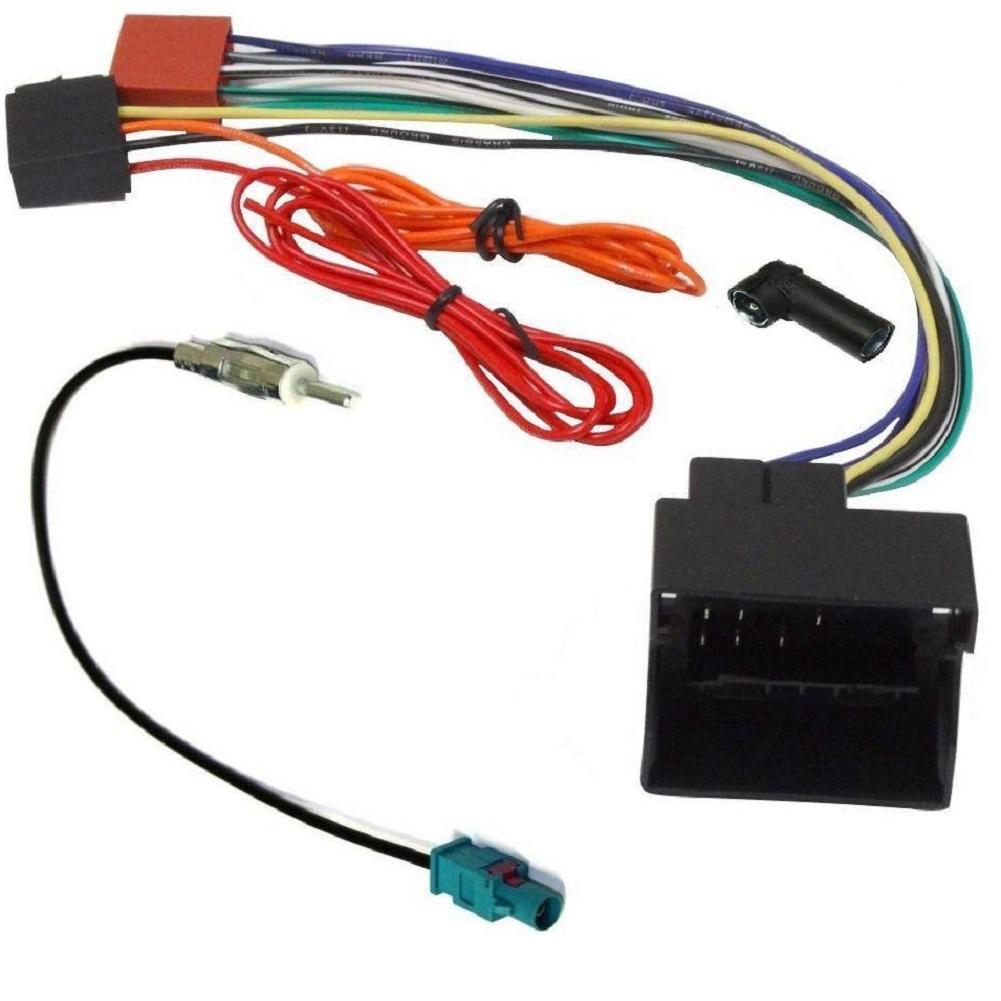ISO Fakra 4x40W Audi ap07 Fiches ISO Autoradio Pour systeme amplifie Bose