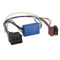 Fiche ISO BMW Adaptateur systeme actif ISO - 4 haut-parleurs pour BMW LandRover ADNAuto