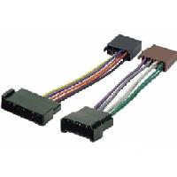 Fiche ISO Ford Fiches ISO Autoradio compatible avec Ford Galaxy Seat Alhembra VW Sharan - 4HP - ISO