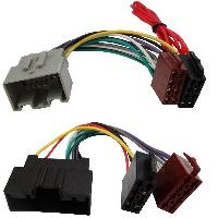 Fiche ISO Ford Kit fiche ISO KITCABLE-4263 compatible avec Ford Fiesta Mk7 08-15