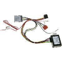 Fiche ISO Hummer Adaptateur systeme actif compatible avec HUMMER H2 03-08 H3 05-10 - avec ampli 4HP ISO