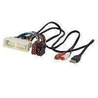 Fiche ISO Hyundai Fiche ISO autoradio AI75A compatible avec Hyundai i30 Tucson Kona Aux USB