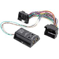 Fiche ISO Mercedes Adaptateur compatible avec ajout amplificateur sur systeme origine - Fakra 2 canaux compatible avec BmW Ford Mercedes Seat Skoda VW