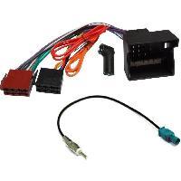 Fiche ISO Mercedes Kit Installation Autoradio KITCABLE-37 compatible avec Mercedes