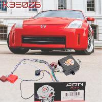 Fiche ISO Nissan Fiche ISO Autoradio K350ZB compatible avec Nissan 350Z Murano avec Ampli ADNAuto