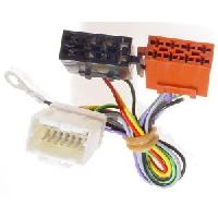 Fiche ISO Nissan Fiches ISO Autoradio compatible avec Nissan avec afficheur deporte 4 HP