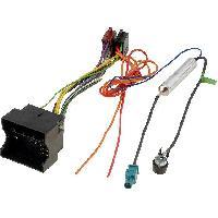 Fiche ISO Opel Kit Fiche ISO autoradio compatible avec Opel ap05 -Adaptateur antenne