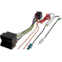 Fiche ISO Opel Kit Fiche ISO autoradio compatible avec Opel ap05 et Adaptateur Antenne