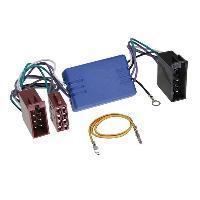 Fiche ISO Seat Adaptateur Mini-ISO 20 pin compatible avec Audi Seat Skoda