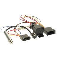 Fiche ISO Seat Faisceau autoradio relais compatible avec Audi Seat Skoda VW avec amplificateur antenne