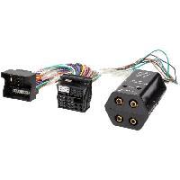 Fiche ISO Skoda Adaptateur compatible avec ajout amplificateur sur systeme origine - Fakra 4 canaux compatible avec BMW Ford Mercedes Seat Skoda VW