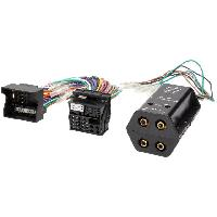 Fiche ISO Skoda Adaptateur pour ajout amplificateur sur systeme origine - Fakra 4 canaux pour BMW Ford Mercedes Seat Skoda VW ADNAuto