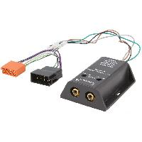 Fiche ISO Universelles Adaptateur compatible avec ajout amplificateur sur systeme origine - ISO 2 canaux - ADN-LT