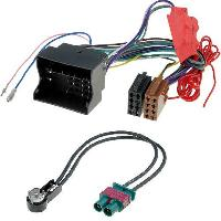 Fiche ISO Volkswagen Kit Installation Autoradio KITCABLE-A2 compatible avec Audi Seat Skoda VW